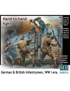 Fanteria inglese e tedesca...