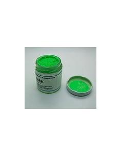 Pigmento fluorescente verde...