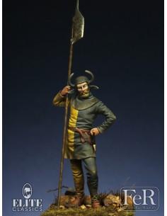 SWISS Halberdier, 15th Century