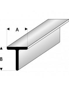 Profilati a T 3 x 3mm Maquett