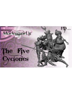 The Five Cyclones (75mm)