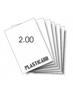 Carta Plastica 2,0 mm