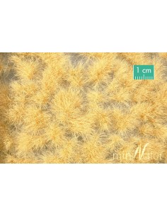 (727-35) Long tufts goldbeige