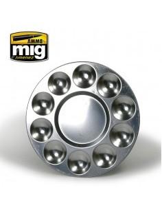 Tavolozza alluminio (10 vani)