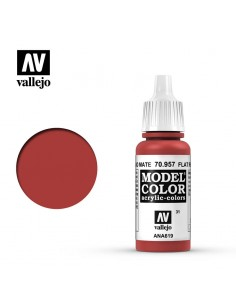 MODEL Color Flat Red