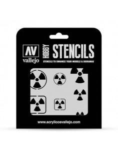 Stencils Radioactivity Signs